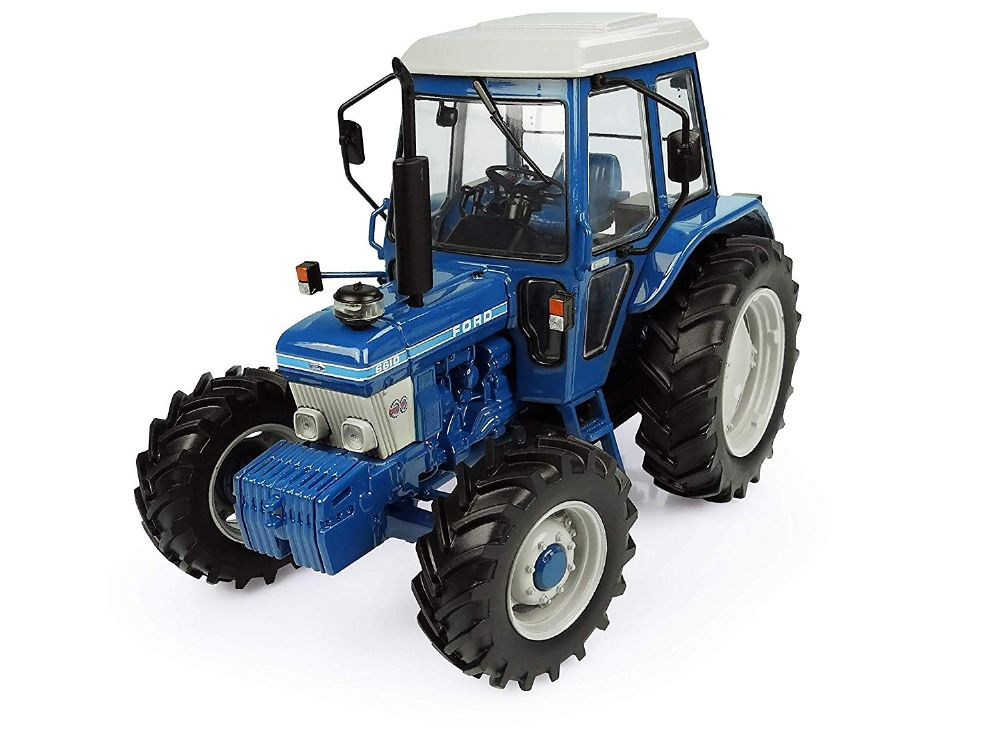 Universal Hobbies Tractor, Ford 6610-4WD-Generation I, Blue UH5367